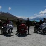Motorbikes Mount Cook