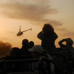 Africa Wildlife Conservation Helicopter