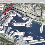Monaco F1 GP Map