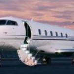 Private Jet Exterior