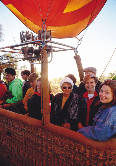 A basket of potential balloon pilots