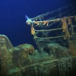 Titanic under water - Lit up
