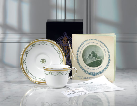 Titanic tableware china & Authentic \