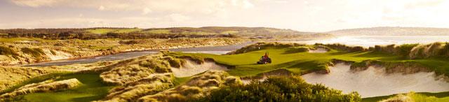 Barnbougle Lost Farm Golf Course Panoramic View